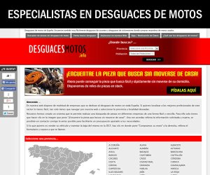 desguacesmotos.info